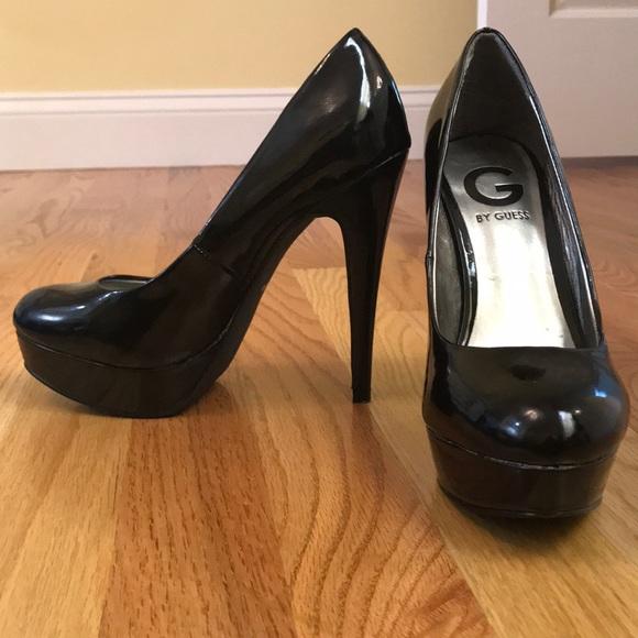 G by Guess Shoes - Black Platform Pump